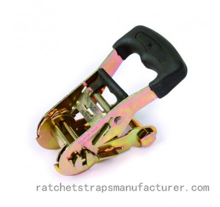 WDRB150309 1.5inch 38mm Ratchet buckle with rubber handle