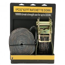 1PC×2inch×27FT Ratchet Tie Down with Quality Packaging