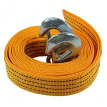 2inch 2000kgs Car tow strap with hooks