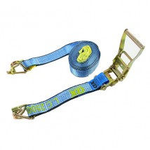2inch L.C. 2500KG Ratchet tie down with swan hooks