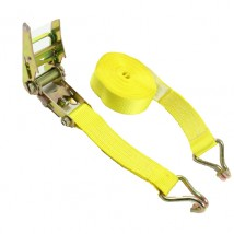 50mm Width × 15 Ft Mini Ratchet Straps with Double J hooks