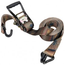 Camouflage 2inch width 16ft length rubber tie down straps with Double J hooks