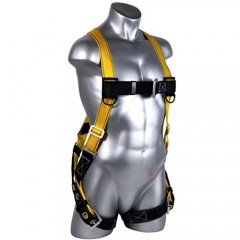 Roof safety harness with D rings 6 points adjustable