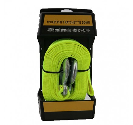 WDCS020201 2inch Cargo Lashing Belt with 1333lbs use and Quality packaging
