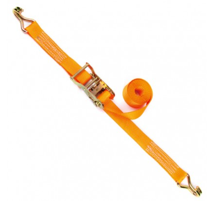 2inch 50mm 10000lbs Ratchet Tie down with double J Hooks