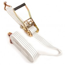 2inch 50mm 4T/5T Ratchet Tie down with white webbing sling