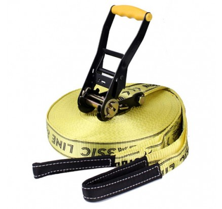 50mm Classic line lock slackline 10m to 30m with bottom