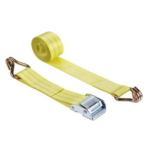 welldo tools cam buckle tie down 2inch heavy duty with double j hooks
