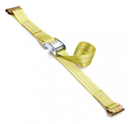 WDCB020203 Cam buckle tie down 50mm with E-track hooks