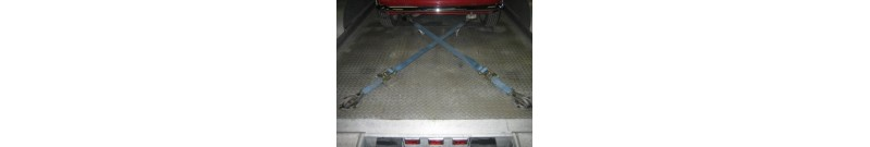 How to Tie Your Mini Down to a Trailer with Mini ratchet straps